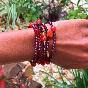 """Handmade Senegalese Beaded Bracelets """"NWT"""""""